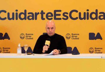 Rodríguez Larreta brindó detalles de la estrategia de testeos