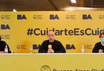 Rodríguez Larreta anunció la ampliación de testeos
