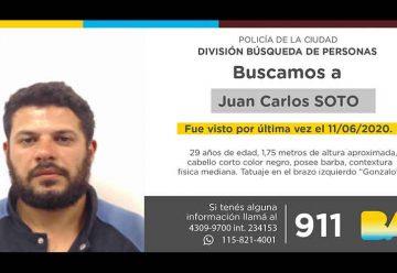 Búsqueda de persona - Juan Carlos Soto