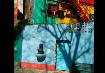 Gran indignación:Un vecino abrió un ingreso trucho por el Paseo Caminito