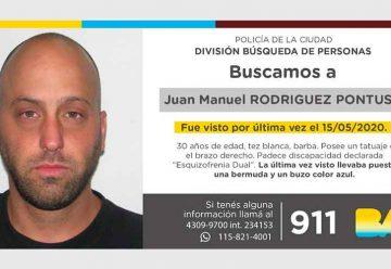 Búsqueda de persona - Juan Manuel Rodríguez Pontussi