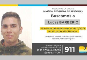 Búsqueda de persona - Lucas Barberio