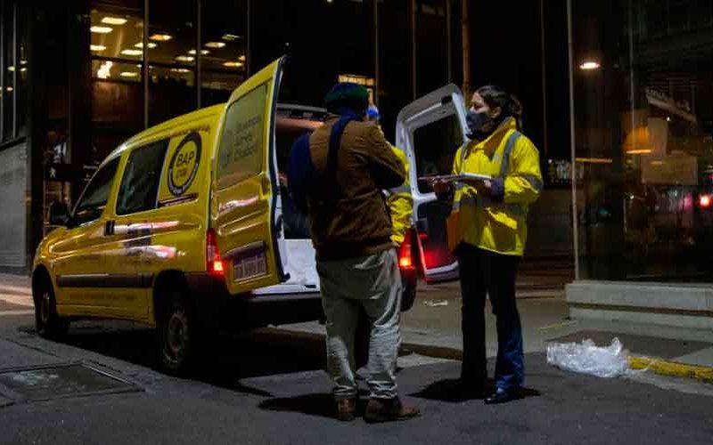 Operativo Frío en la Ciudad: Con un protocolo renovado