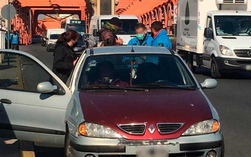 Detienen a un conductor que agredió a un Agente de Tránsito