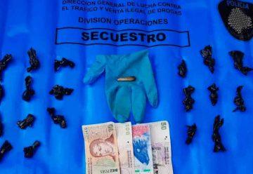 Detienen a un dealer con marihuana en Barracas