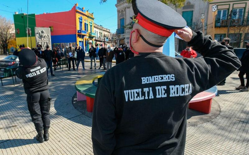 El barrio de La Boca celebró ayer su aniversario 150