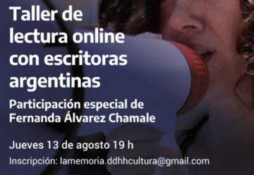 Escritoras Argentinas: Taller de lectura online