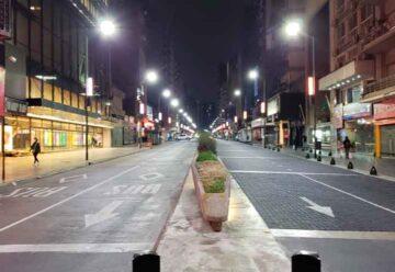 Un tramo de la Avenida Corrientes será peatonal