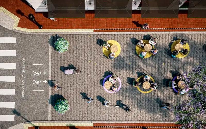 Habilitan en la ciudad 15 nuevas áreas peatonales