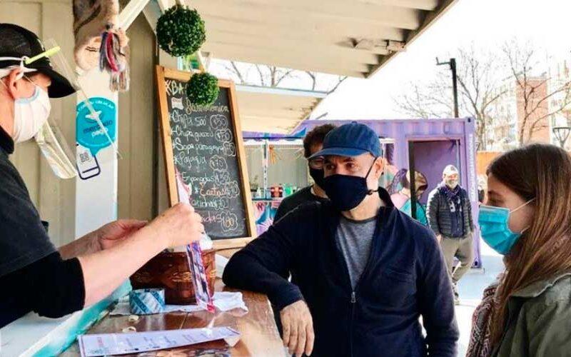 Rodríguez Larreta y Migliore visitaron el Barrio Rodrigo Bueno