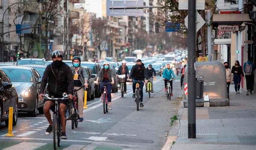 Se construyeron nuevos carriles exclusivos para bicicletas