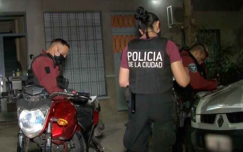 Dos detenidos con drogas durante un procedimiento