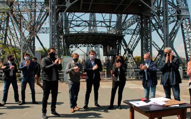 Proponen declarar al puente transbordador Patrimonio Histórico y Cultural