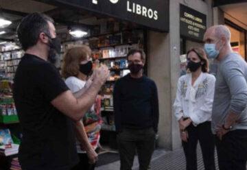 Las librerías de Corrientes ya pueden ofrecer sus libros en la vereda
