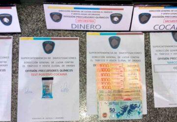 Detienen a un dealer vendiendo cocaína en Constitución