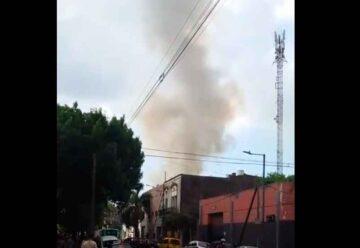 Un incendio destruyó un conventillo en La Boca