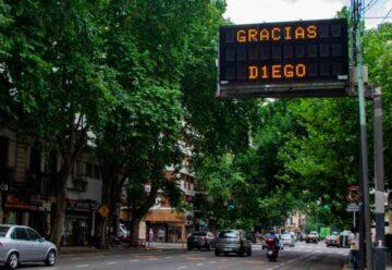 La Ciudad despide a Diego Armando Maradona