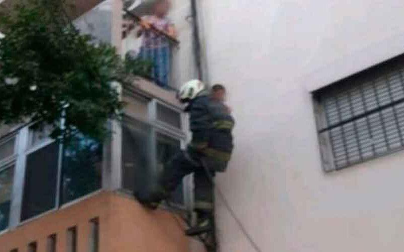 Nueva Pompeya: Bomberos rescataron a 14 personas