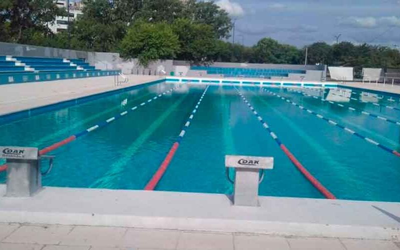 Reabrió La pileta Olímpica de Parque Sarmiento
