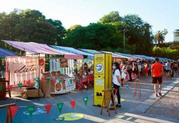 """La feria """"BA Market"""" estará este domingo en Plaza Colombia"""