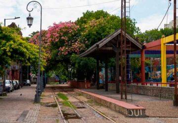 Vecinos de La Boca impulsan que pase un tren de pasajeros por el barrio