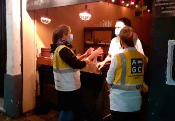 Operativos de prevención en bares y restaurantes