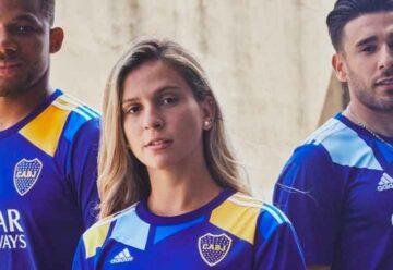 Homenaje al barrio: Boca presentó su nueva camiseta