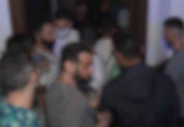 Desbarataron fiesta electrónica clandestina con 95 personas