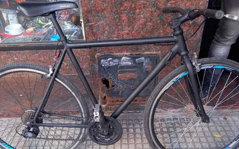 La Policía recuperó una bicicleta robada y detuvo al vendedor