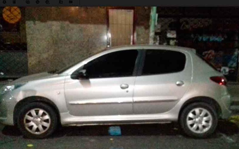 Ladrón de autos fue detenido en Recoleta