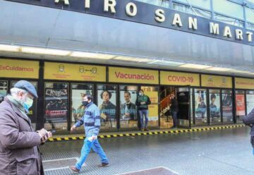 El teatro San Martín se transformó en un centro de vacunación