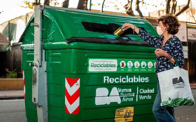Nuevos contenedores verdes en la Ciudad