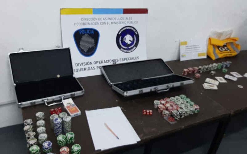 Desbaratan garito de póker clandestino en Saavedra