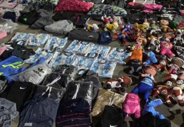 Secuestran un camión cargado con mercadería ilegal