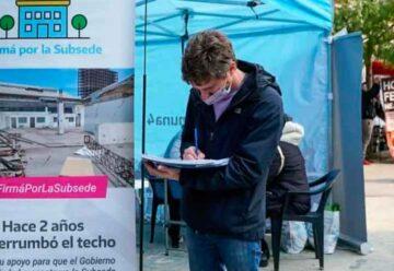 Juntan firmas para que se reconstruya la subsede de la Comuna 4