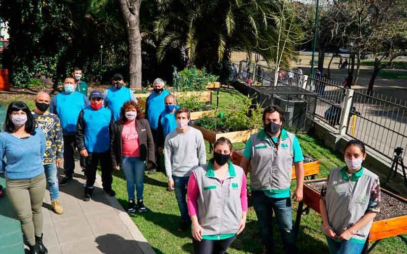 Se inauguró la Huerta Urbana en El Templete