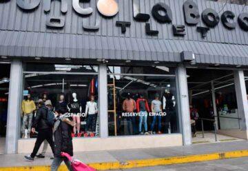 Una galería clausurada en La Boca y artículos apócrifos secuestrados