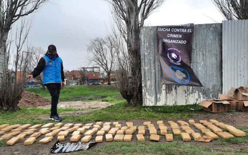Más de 93 kilos de marihuana incautados en Soldati