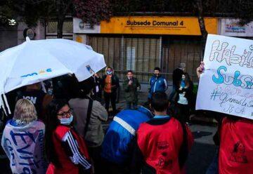 Vecinos se movilizaron para pedir la reapertura de la subsede Suárez