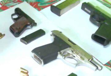 Allanamientos en el Barrio Zavaleta: armas y municiones secuestradas