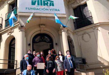 Reconocimiento a la fundación VITRA en su 56 aniversario