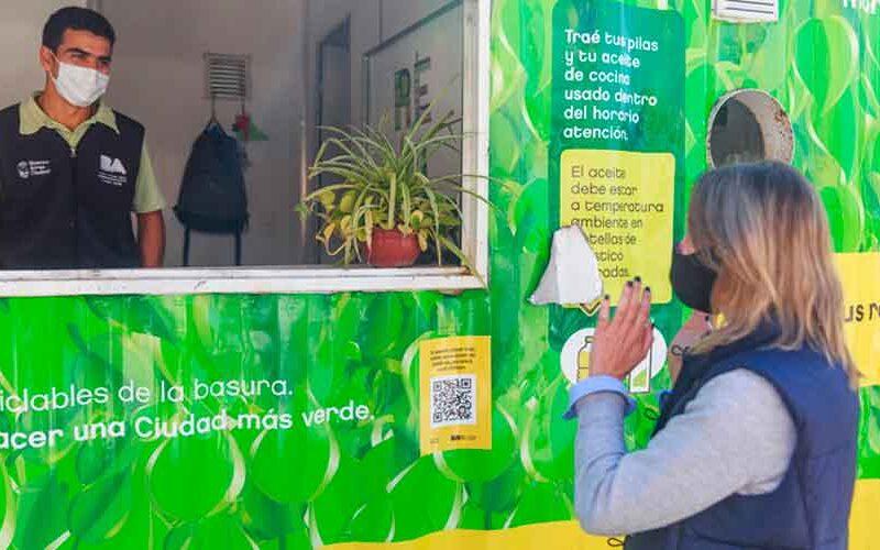 Ciudad: Nuevo Punto Verde en Barracas